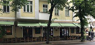 Außenansicht Kurhaus Korsakow am Boxhagener Platz in Friedrichshain