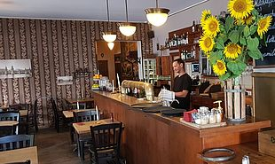 Innenraum im Restaurant direkt am Boxhagner Platz im Herzen Friedrichshain